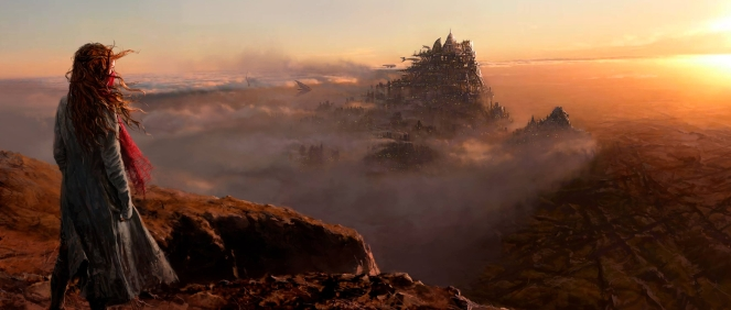 Concept art for Christian Rivers' Mortal Engines