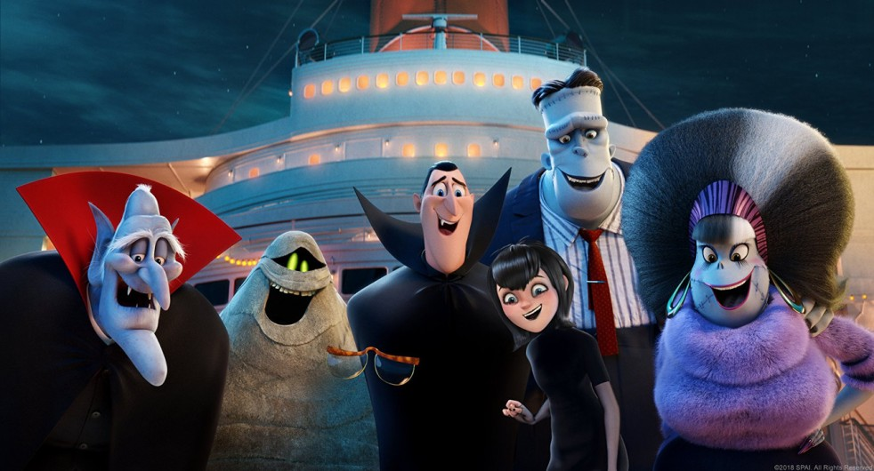 The cast of Hotel Transylvania 3: Summer Vacation