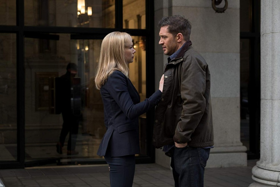 Michelle Williams and Tom Hardy in Venom