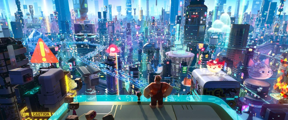 The internet, ready for the wrecking in Ralph Breaks the Internet