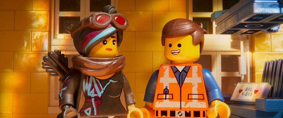 Elizabeth Banks and Chris Pratt in The LEGO Movie 2: The Second Part