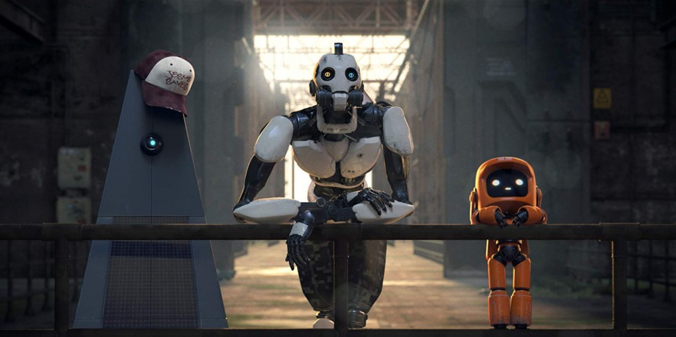 Still from Love, Death & Robots, Episode 2: Three Robots