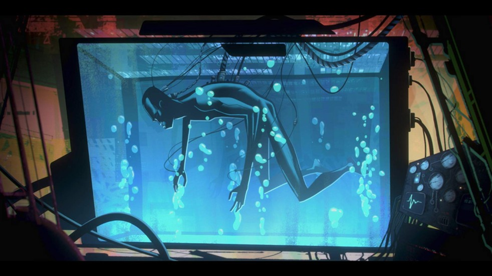 Still from the Love, Death & Robots episode Zima Blue