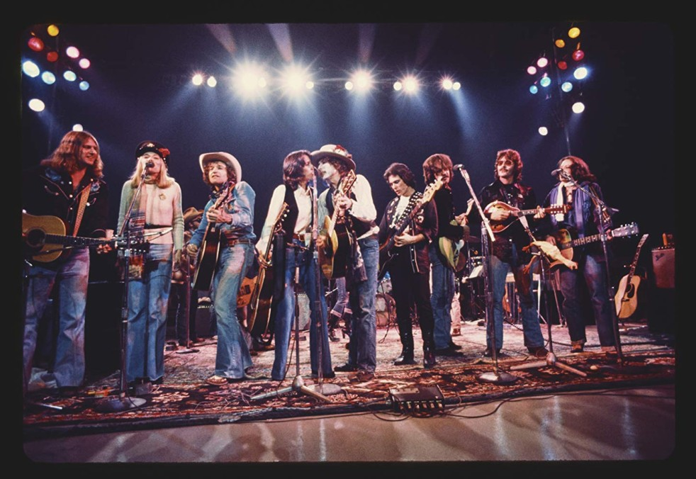 The Cast of the Rolling Thunder Revue, as they appear in 'Rolling Thunder Revue: A Bob Dylan Story By Martin Scorsese'