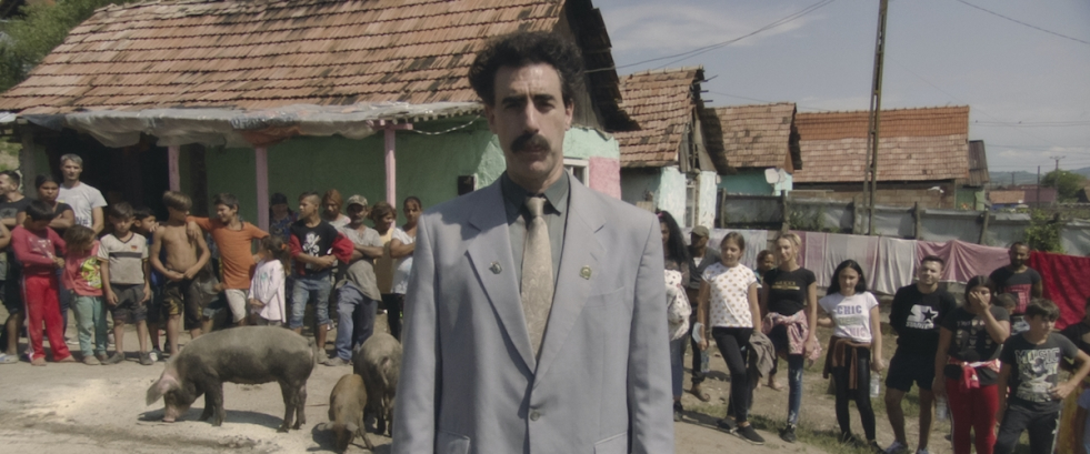 still from the film Borat: Subsequent Moviefilm